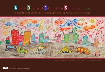 compendium of arts & cultural services - New York City Department ...
