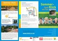 HB-Folder Sommer 08 - 100 Tage Sommer