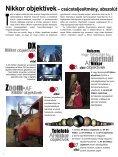 NIKKOR OBJEKTÍVEK - Nikon Europe - Page 2