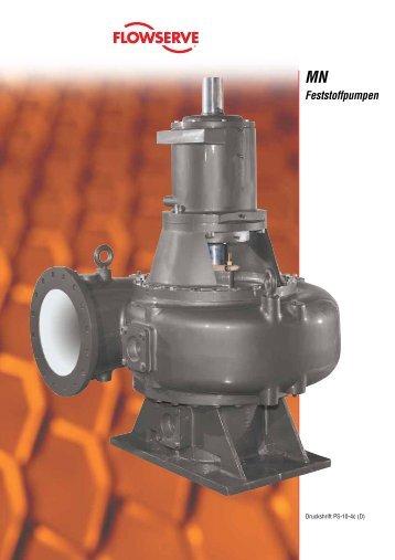 Feststoffpumpen - Flowserve Corporation