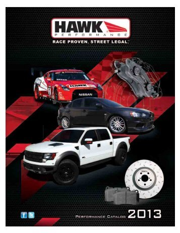 Catalog - Hawk Performance