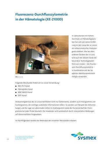 XE-2100D - Sysmex Deutschland GmbH