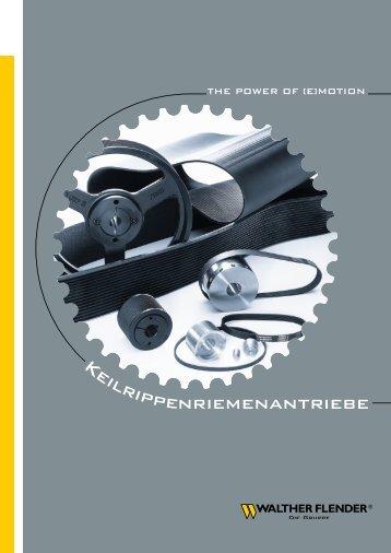 Keilrillenscheiben - Walther Flender