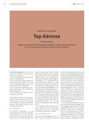 Investieren in der Schweiz: Top-Adresse - Home - Ernst & Young ...
