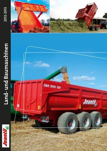Land- und Baumaschinen