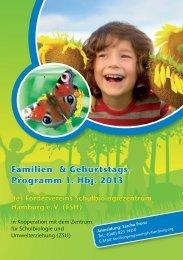 Familien- & Geburtstags- Programm 1. Hbj. 2013 - Förderverein ...