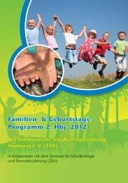 Familien- & Geburtstags- Programm 2. Hbj. 2012 - Förderverein ...