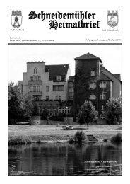 HB 5.3:heimatbrief v2.qxd - Heimatkreis Schneidemühl