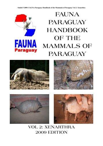 hbk mammals vol 2 - FAUNA Paraguay