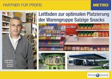Leitfaden zur optimalen Platzierung der Warengruppe ... - Metro