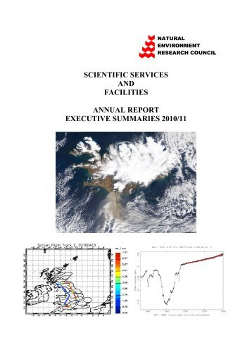 All annual reports (11MB) - Natural Environment Research Council
