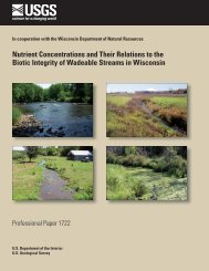 Nutrient Concentrations and Their Relations to the Biotic ... - USGS