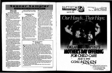 April 29, 1993.pdf - Baptist General Convention of Oklahoma