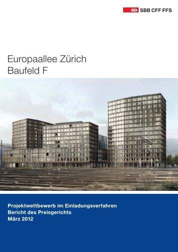 Europaallee Zürich Baufeld F