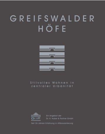 Greifswalder Höfe - IMMOAGENTE - Ihr Immobilienpartner