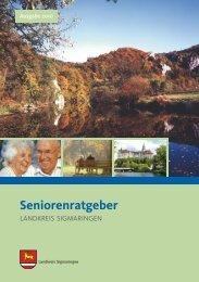 Seniorenratgeber Landkreis Sigmaringen ... - Pflegeboersen.de