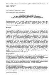 Download des Entwurfes der Kirchenkreisordnung (220 KB) Stand