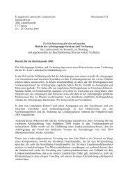 Evangelisch-Lutherische Landeskirche Drucksache 331 ...
