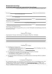Restauratorenvertrag - Pommersche Evangelische Kirche