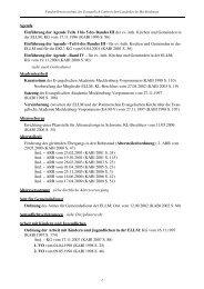 luth. Kirchen und Gemeinden in der ELLM; KG vom 17.11.1996 (K