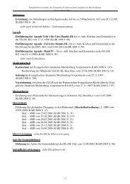 Fundstellenverzeichnis 02-2009 - Pommersche Evangelische Kirche
