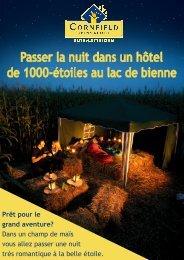 Liste de prix - Camping Sutz