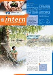 Mitgliederzeitschrift II/2010 - Raiffeisenbank Wesermarsch-Süd eG