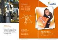 Prospekt Service-Center Blankenhain - jenawohnen