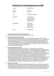 Protokoll 15 / 2006 - Landkreis Starnberg