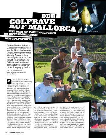 Zum Artikel (pdf - Golfclub St. Pauli eV