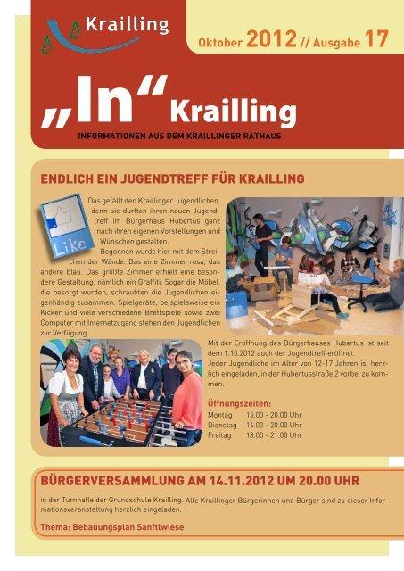 """""""In"""" Krailling / Ausgabe 17 - Gemeinde Krailling"""