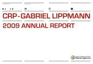 1 - Centre de recherche public Gabriel Lippmann