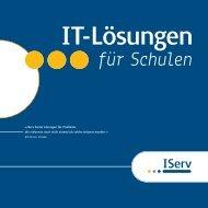IT-Lösungen für Schulen - IServ Schulserver