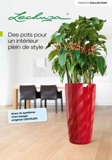 La Collection Premium de LECHUZA - Blumenmarkt Dietrich Gmbh