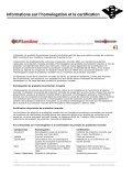 HOMOLOGATIONS INCENDIE - Chime-Flex - Page 2
