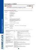 HOMOLOGATIONS INCENDIE - Chime-Flex - Page 7