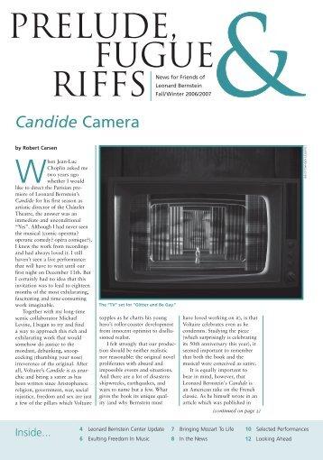 Candide Camera - Leonard Bernstein