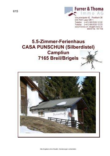 5.5-Zimmer-Ferienhaus CASA PUNSCHUN ... - newhome.ch