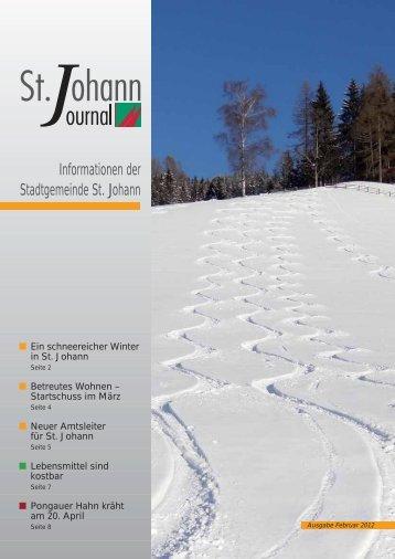 (726 KB) - .PDF - Stadtgemeinde St. Johann im Pongau
