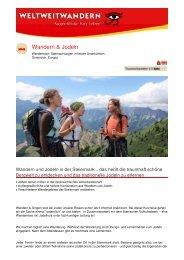 Wandern & Jodeln - Weltweitwandern