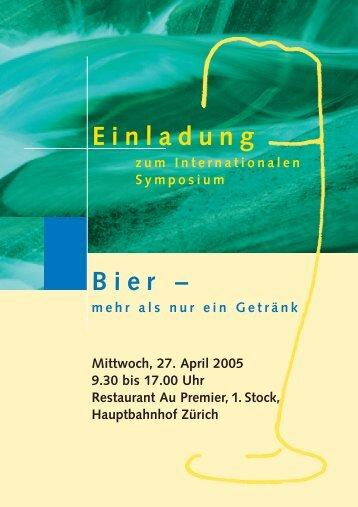Anmeldung - Schweizer Brauerei - Verband