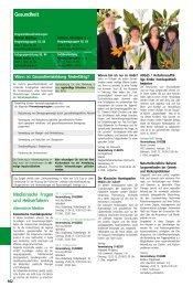 Gesundheit und Ernährung - VHS Dortmund - Stadt Dortmund