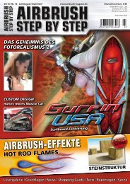 AIRBRUSH-EFFEKTE - Airbrush Step by Step Magazin