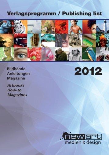 Verlagsprogramm / Publishing list - newart