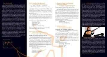 Download der Konzertreihe 2012/2013 - Bayerisches ...