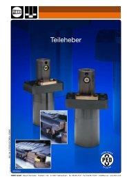 Teileheber - 320 daN - Held Werkzeugmaschinen GmbH
