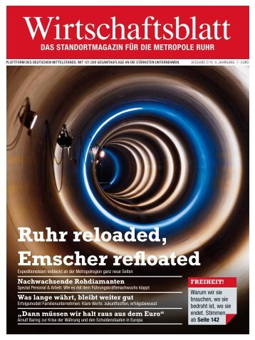 Ruhr reloaded, Emscher refloated