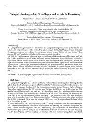 Computerlaminographie, Grundlagen und technische ... - NDT.net