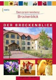 Brockenblick Ausgabe März-Mai 2012 - Seniorenresidenz ...