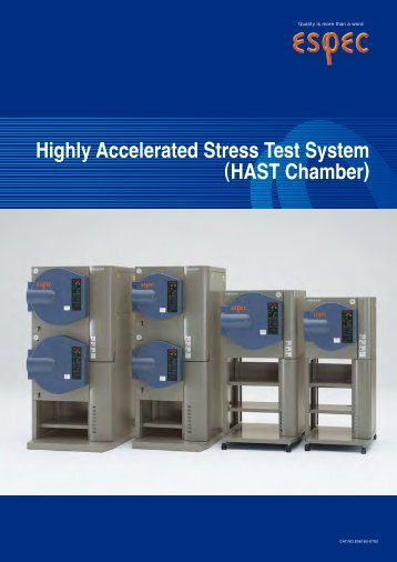 Highly Accelerated Stress Test System (HAST Chamber)